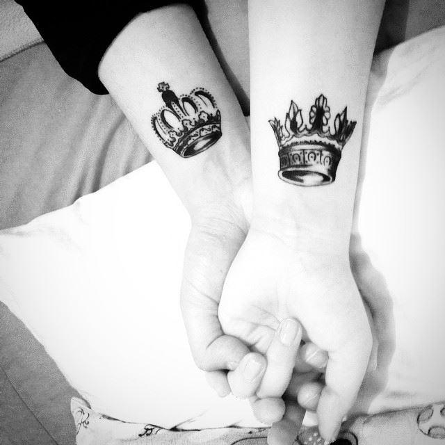 Tatuaje coronas