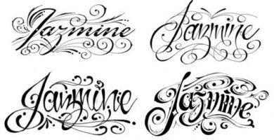 fuentes de letras para tatuajes
