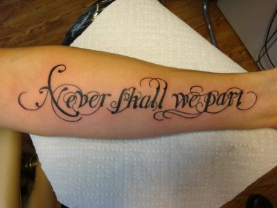 letras cursivas para tatuajes