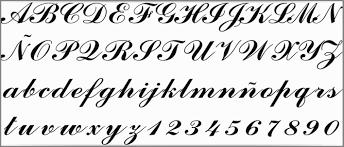 letras goticas para tatuajes nombres