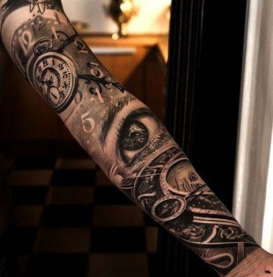 tatuajes de brazo entero