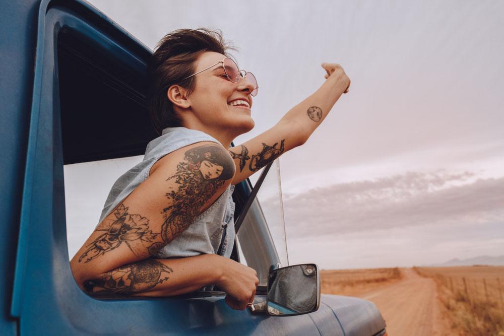 tatuajes de mujeres en el brazo