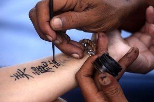 id - pintura tatuajes temporales
